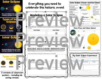 Solar Eclipse 2017: Activities to learn about and view the total eclipse