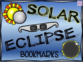 Solar Eclipse 2017 Bookmarks