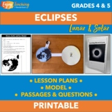 Solar Eclipse Activities - Just Click and Go for Solar Eclipse 2017 Resources!
