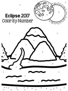 Solar Eclipse 2017: Color By Number