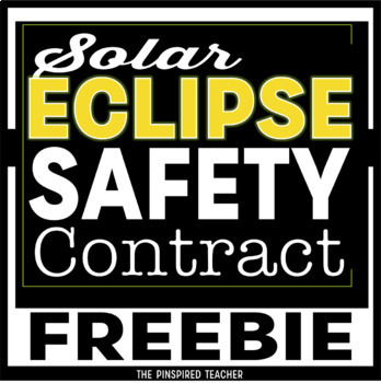 Solar Eclipse 2017: FREE Solar Eclipse Safety Contract for Eclipse Glasses