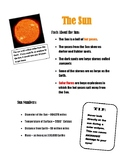 Solar Eclipse 2017 Functional Text about the Sun with questions