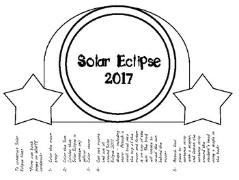 Solar Eclipse 2017 Hat