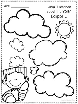 Solar Eclipse 2017 Printables