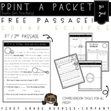 Solar Eclipse 2017 // Reading Comprehension Packet FREEBIE!