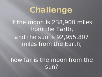 Solar Eclipse 2017 and Math Place Value