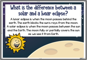 Solar Eclipse A PowerPoint for Kids