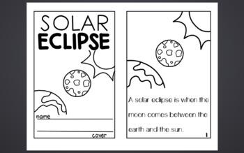 Solar Eclipse Activity Bundle
