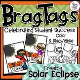 Solar Eclipse 2017 Reward Tags - Freebie