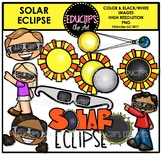 Solar Eclipse Clip Art Bundle {Educlips Clipart}