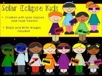 Solar Eclipse Clip Art Bundle