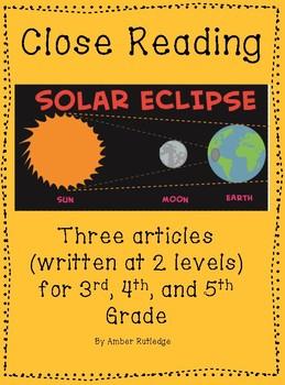 Solar Eclipse Close Reading (August 21, 2017)