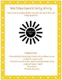 Solar Eclipse Concrete Poetry, Borders, Clip Art, & Teacher Plans!