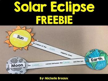 Solar Eclipse Craft FREEBIE