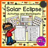 Solar Eclipse Differentiated Worksheets and Activities
