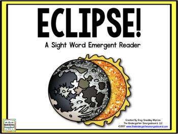 Solar Eclipse Emergent Reader!