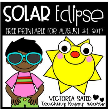 Solar Eclipse 2017 Free Printable
