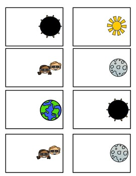 Solar Eclipse Fun Game Sight Words and EDITABLE FREEBIE for one week