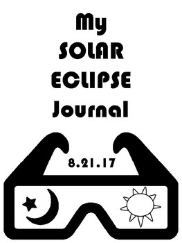 Solar Eclipse Fun Pack - Resources - Journal - Interactive Notebook - Writing