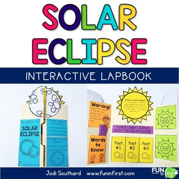 Solar Eclipse Interactive Lapbook
