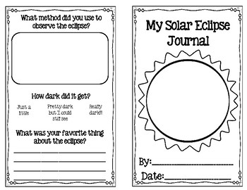 Solar Eclipse 2017 Journal