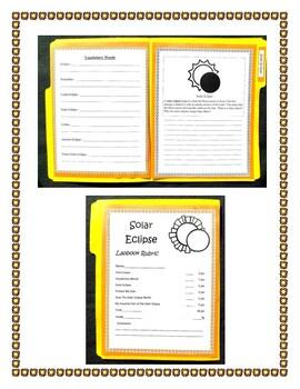 Solar Eclipse Lapbook