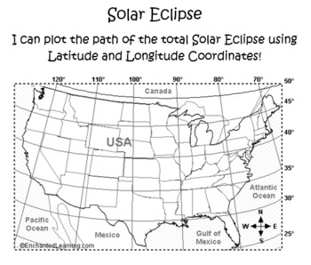 Solar Eclipse Latitude and Longitude