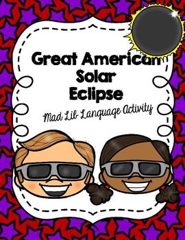 Solar Eclipse Mad Lib