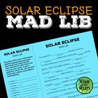 Solar Eclipse Mad Lib Fun Activity