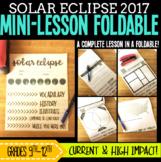 Solar Eclipse 2017 Mini-Lesson Flipbook