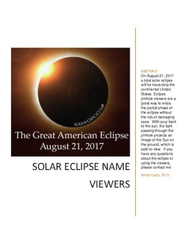 Solar Eclipse Name Viewers
