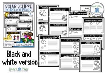 Solar Eclipse Notebook