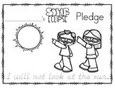 Solar Eclipse Pledge for Little Ones!