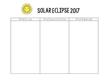 Solar Eclipse - Project Based Learning