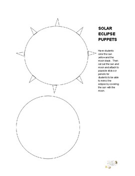 Solar Eclipse 2017 Puppets