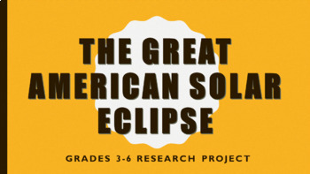 Solar Eclipse Research Project