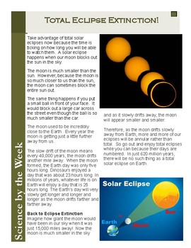 Solar Eclipse Science!