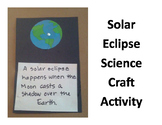 Solar Eclipse Science Activity Craft