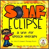 Solar Eclipse 2017 Speech Therapy Pack