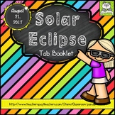 Solar Eclipse Tab Booklet Distance Learning