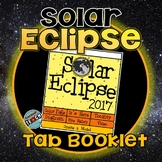 Solar Eclipse 2017 Tab Book or Worksheet Pack