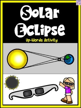 Solar Eclipse Up-Words Vocabulary Activity