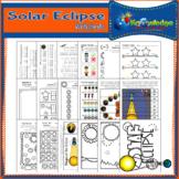 Solar Eclipse Worksheets for PreK and Kindergarten