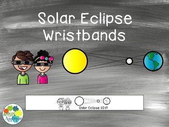 Solar Eclipse Wristbands