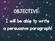 Solar Eclipse Writing - Persuasive