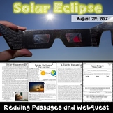 Solar Eclipse of 2017: Reading Passages and Webquest