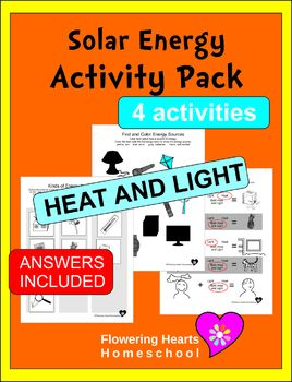 Solar Energy Activity Pack
