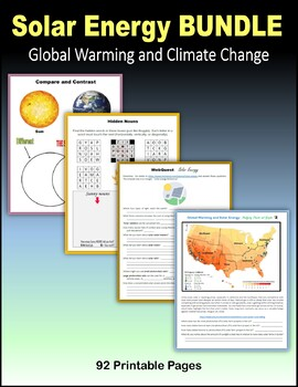 Solar Energy BUNDLE (Global Warming and Climate Change)