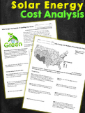 Solar Energy Cost Analysis Worksheet