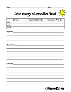 detailed lesson plan on solar energy grade v The sun and its energy - the need project.